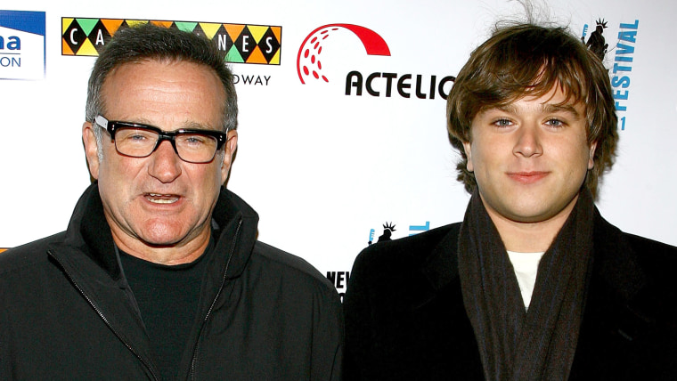 Zak Williams, Robin Williams