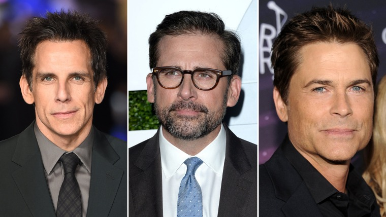 """Ben Stiller, Steve Carell and Rob Lowe took to Twitter Wednesday after Sony decided to cancel the release of """"The Interview."""""""