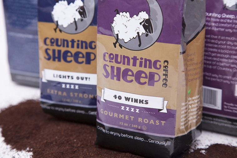 Coffee that helps you sleep? Herb added to the blend