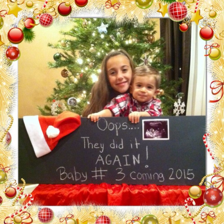 15 of the cutest holiday-themed pregnancy announcements