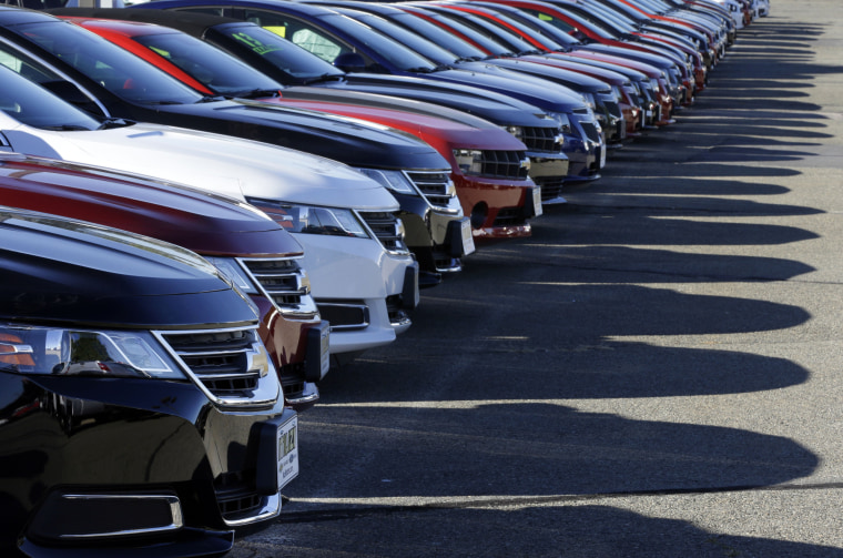 The week between Christmas and New Year's Day is expected to be the busiest of the year for auto dealers.