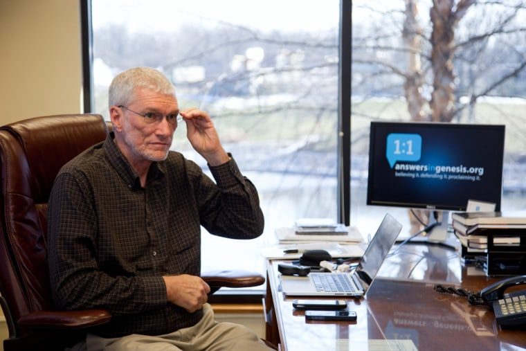 Ken Ham, founder of the Creation Museum