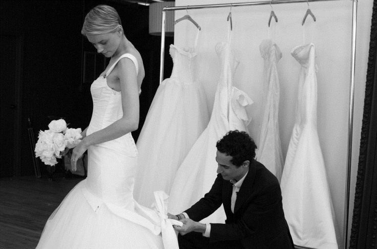 Zac Posen has dressed celebs including Reese Witherspoon and Gwyneth Paltrow. Now, he'll dress brides on a budget, too.
