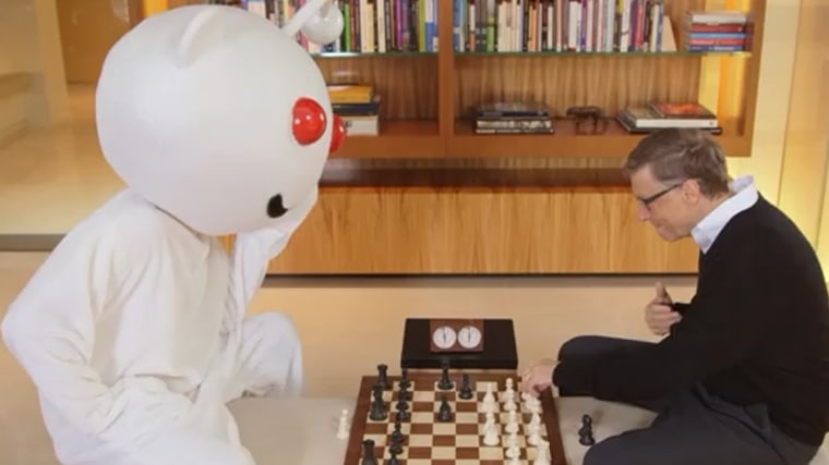 To thank Reddit for hosting his Ask Me Anything, Bill Gates created a video—starring himself and the Reddit mascot—that has since gone viral.