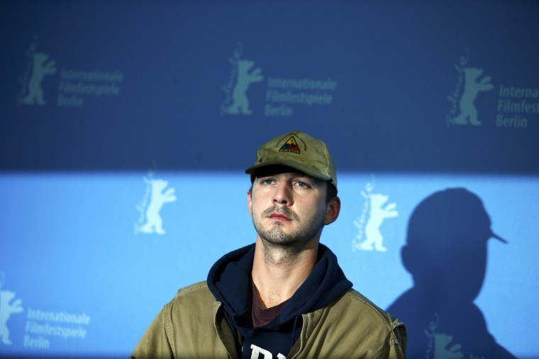 Shia LaBeouf is very sorry.