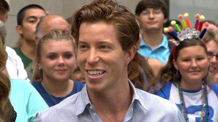 Shaun White stops by the plaza to talk about the Sochi Olympics and his dramatic haircut.