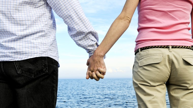 Date night doesn't have to mean dinner and movie. Try going for a walk and holding hands with your honey.