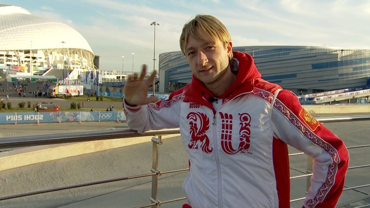 """Russia's Evgeni Plushenko, who is tied for the most Olympic medals of any men's figure skater in history, on abruptly withdrawing from the competition in Sochi on Thursday and announcing his retirement: \""""It's hard, but you know, it's life.\"""""""