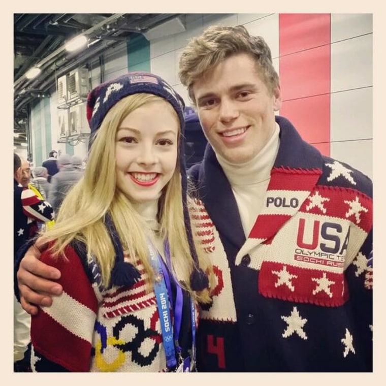 Image: Gracie Gold and Gus Kenworthy