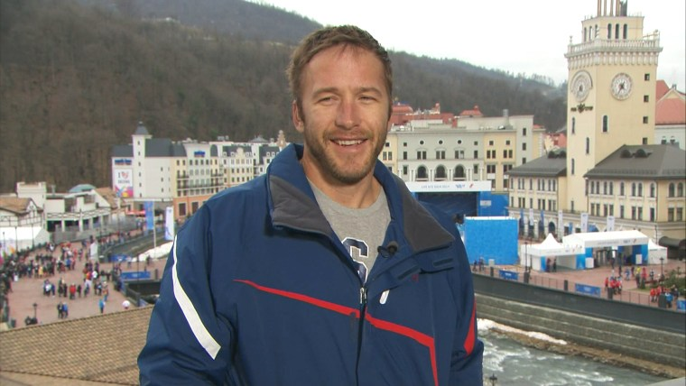U.S. skier Bode Miller talked about his emotional interview after winning a bronze medal on Sunday and possibly making a run at the 2018 Olympics when he would be 40 years old.