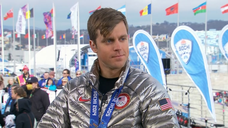 U.S. snowboardcross bronze medalist Alex Deibold on TODAY.