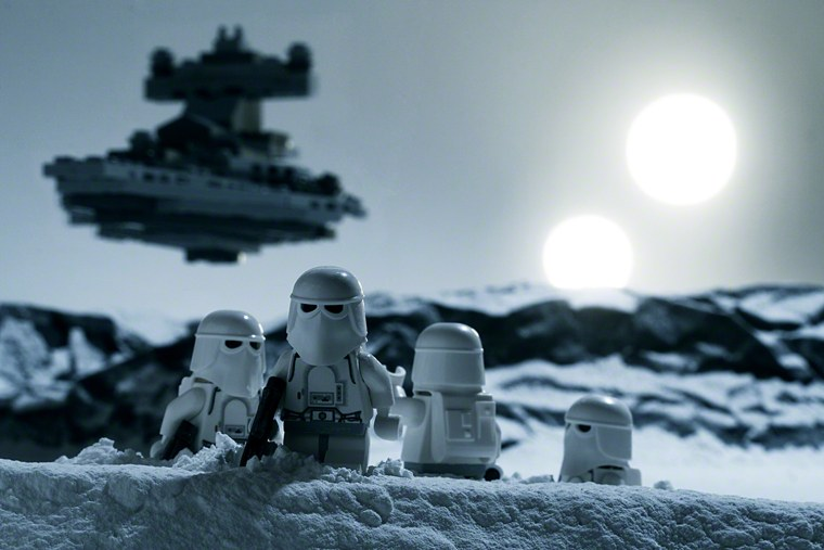 Star Wars Lego photos take action figures to a whole new level