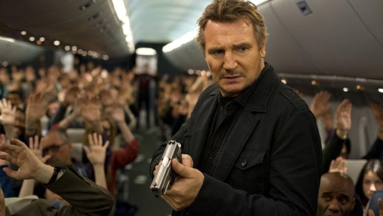 """Image: Liam Neeson in """"Non-Stop"""""""