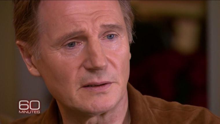 """Liam Neeson on """"60 Minutes"""""""