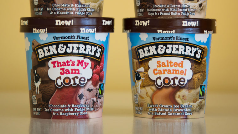 Taste test: TODAY reviews Ben & Jerry's new 'Core' flavors