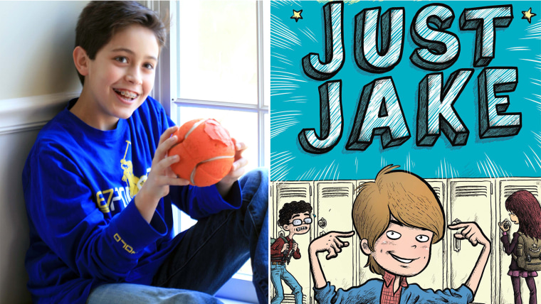 """Jake Marcionette is the 13-year-old author of the bestselling book, """"Just Jake."""""""