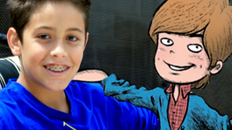 """Jake Marcionette, 13, saw his first book, """"Just Jake,"""" make the New York Times bestseller's list immediately after its release in February."""