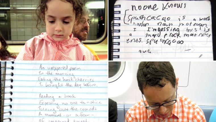 Subway poetry