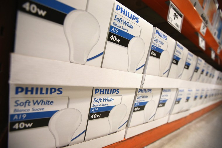 Stockpilers take dim view of new bulb ban