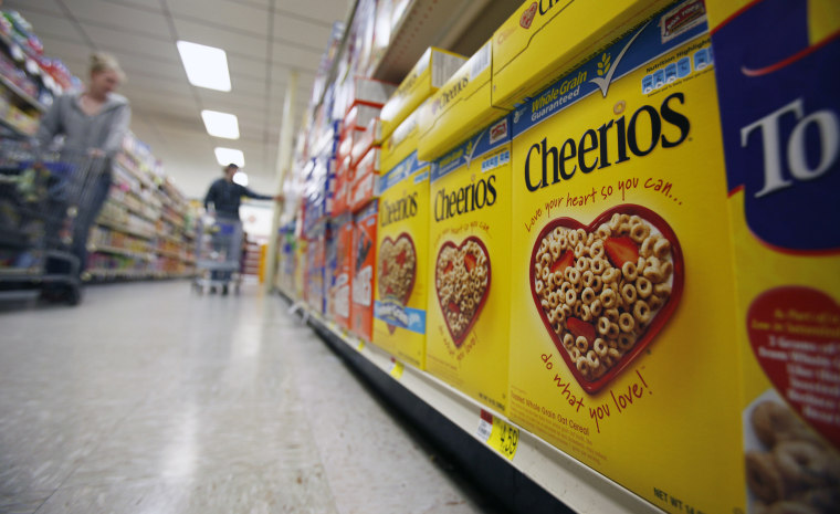 Non-genetically tweaked Cheerios more marketing boon than health boost