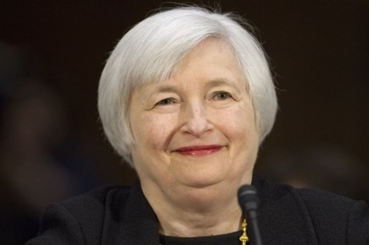 The Senate voted Monday to approve Janet Yellen as the next Federal Reserve Board chair, making her the first woman to lead the Federal Reserve in its century-long history.