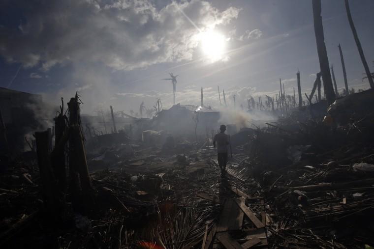 European flooding beats Philippine typhoon on economic damage