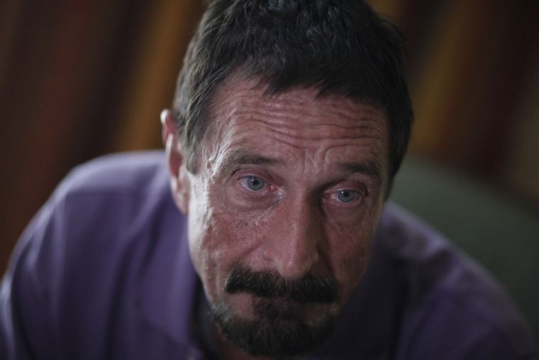 McAfee no more. The company that once bore anti-virus pioneer John McAfee's name has changed its name.
