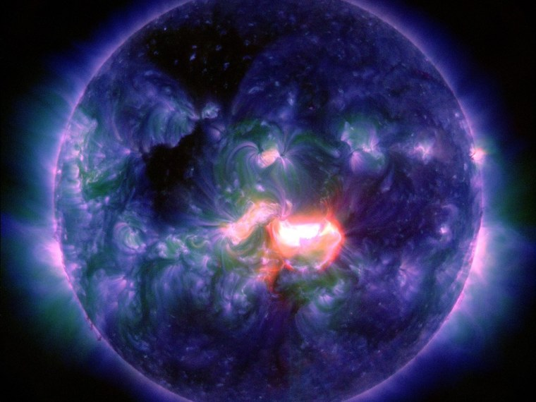 Image: Solar flare