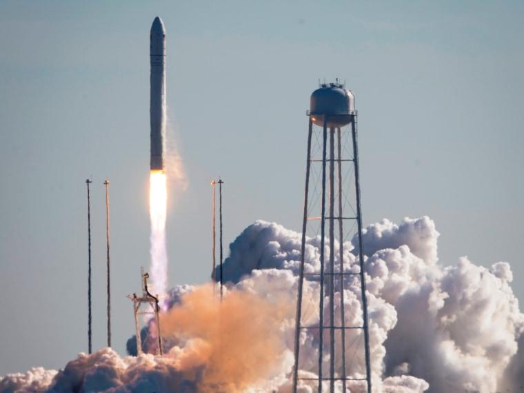 Image: Cygnus launch
