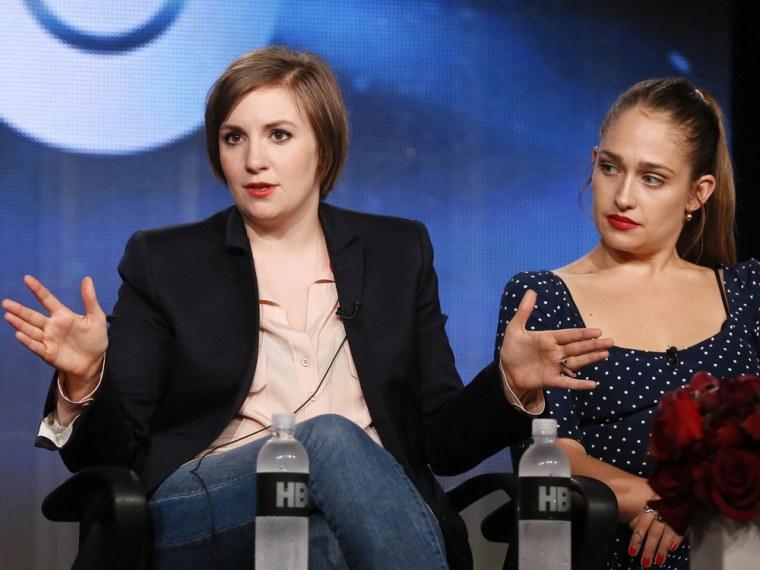 "Creator, executive producer and actor Lena Dunham and actress Jemima Kirke talk about HBO's ""Girls."""