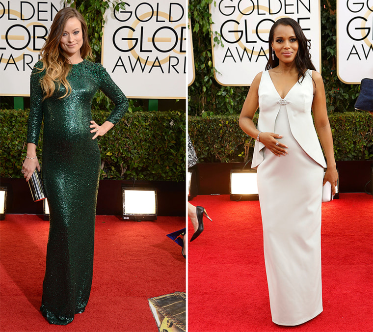 Olivia Wilde arrives at the 71st annual Golden Globe Awards at the Beverly Hilton Hotel on Sunday, Jan. 12, 2014, in Beverly Hills, Calif. (Photo by J...