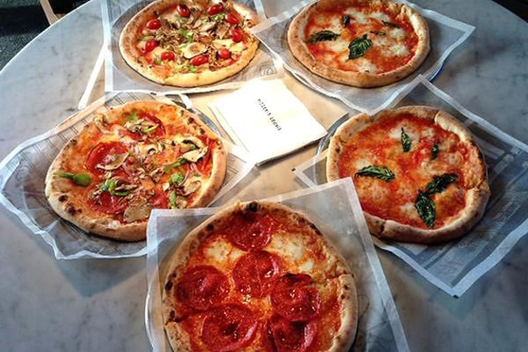 The artisanal pizza business is on an upswing. A visual sampling of the fare at Pizzeria Locale is seen here in Denver, Colo.