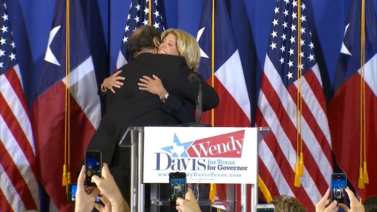 Davis could face an uphill battle in the Texas governor's race.