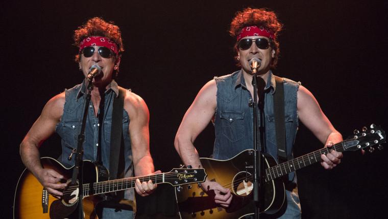 Image: Bruce Springsteen, Jimmy Fallon