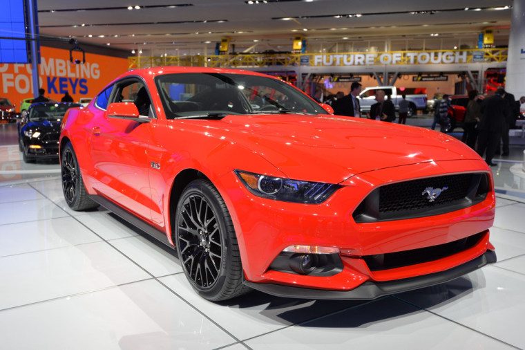 Automakers unafraid to flex their muscle (cars)