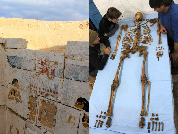 Mystery pharaoh and his tomb identified in Egypt