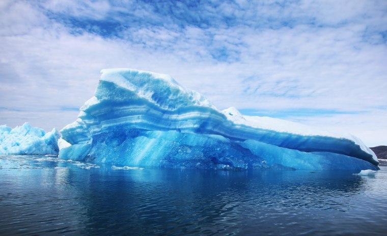 Image: Melting glacier