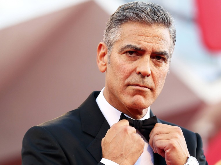 George Clooney to Tina Fey: You have 'poked the bear'