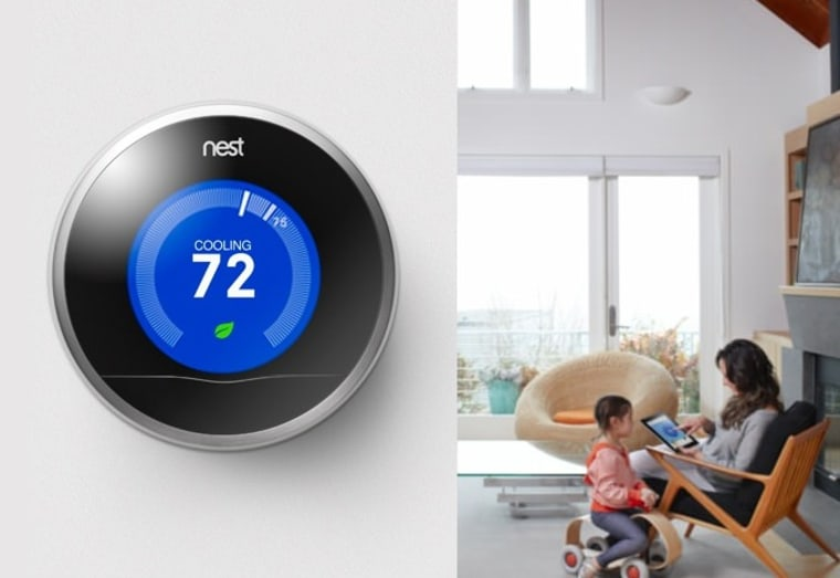 The Nest thermostat can learn your schedule, but won't share those very personal details with its new parent company Google unless you give it the OK, the company announced.