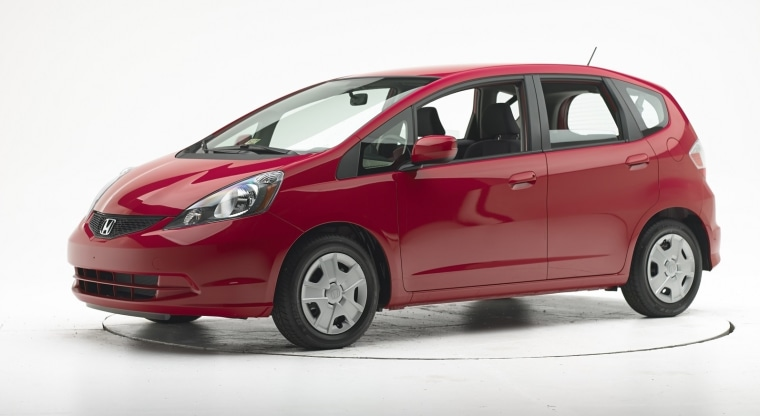 The 2013 Honda Fit Fared Poorly In A New Frontal Crash Test.