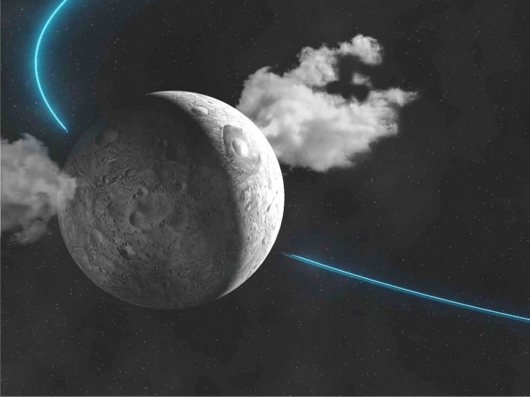 Is there life on Ceres? Dwarf planet spews water vapor into space