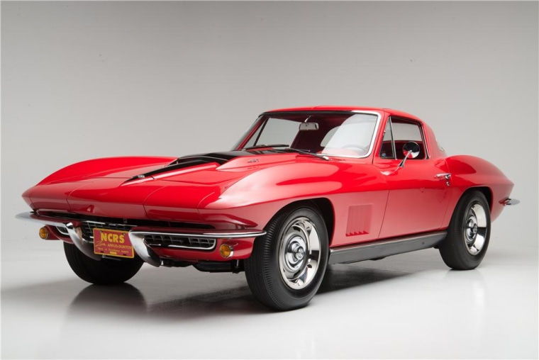 This 1967 Chevrolet Corvette L88 Coupe sold for $3.85 million, the most ever paid for a Corvette.