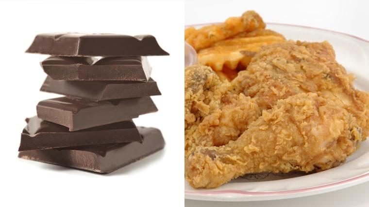 Chocoalte chicken