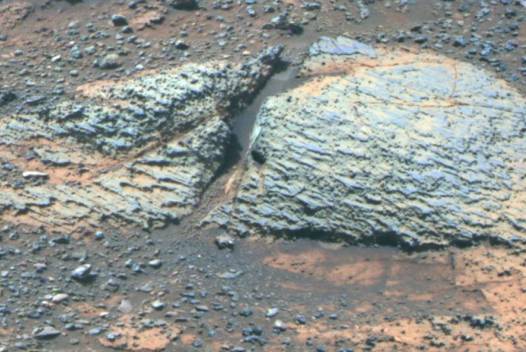 Opportunity rover finds fresh signs that ancient Mars was life-friendly