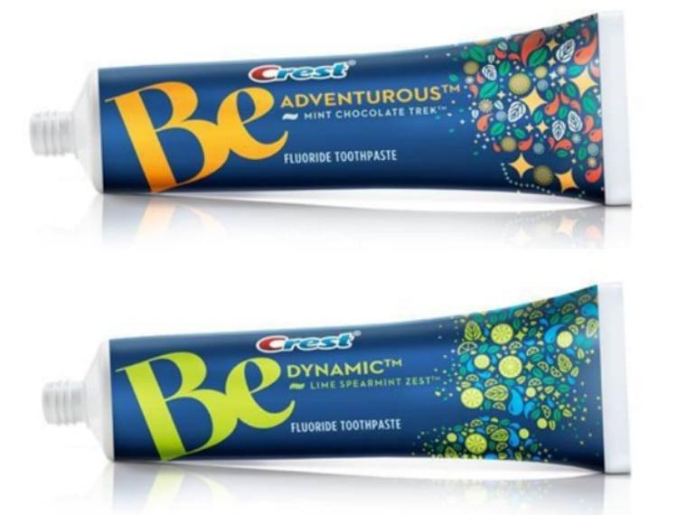 Crest chocolate toothpaste