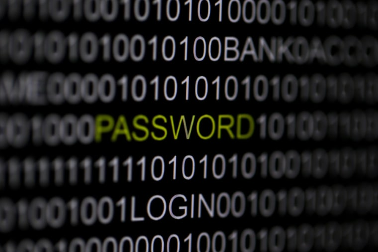 Image: A photo illustration of the word 'password' pictured on a computer screen.