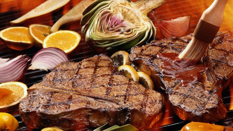 bbq, diet, steak, meat, potato salad, cole slaw, barbecue, sticking to a diet, diet plans