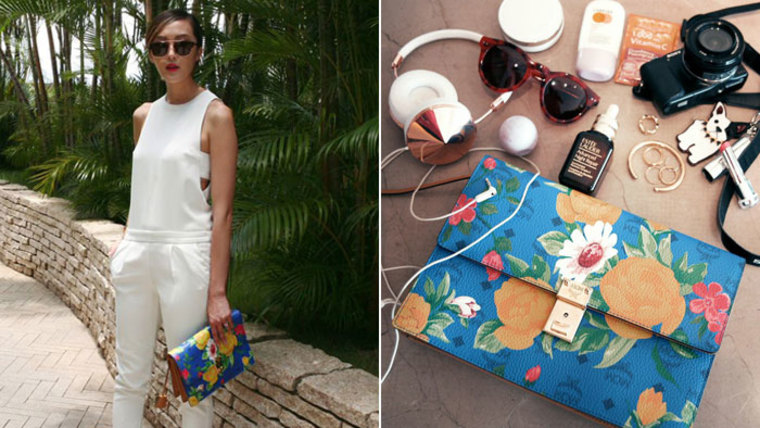 Bloggers' favorite summer beauty products: Chriselle Lim of The Chriselle Factor, Kelly Cook of Snob, Natalie Decleve Hippie in High Heels