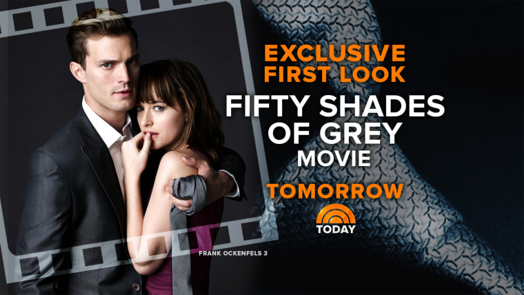 """Image: \""""Fifty Shades of Grey\"""" tease"""
