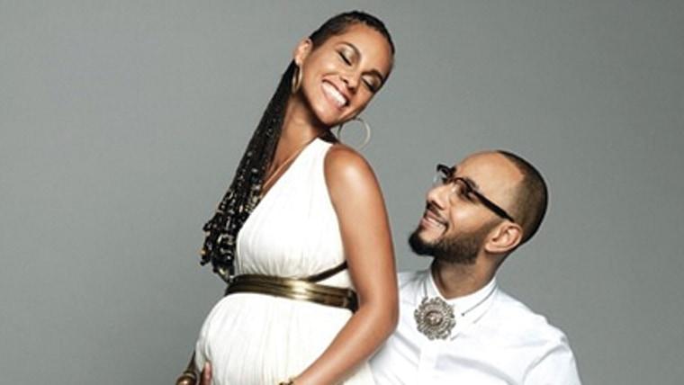 Image: Alicia Keys, Swizz Beatz